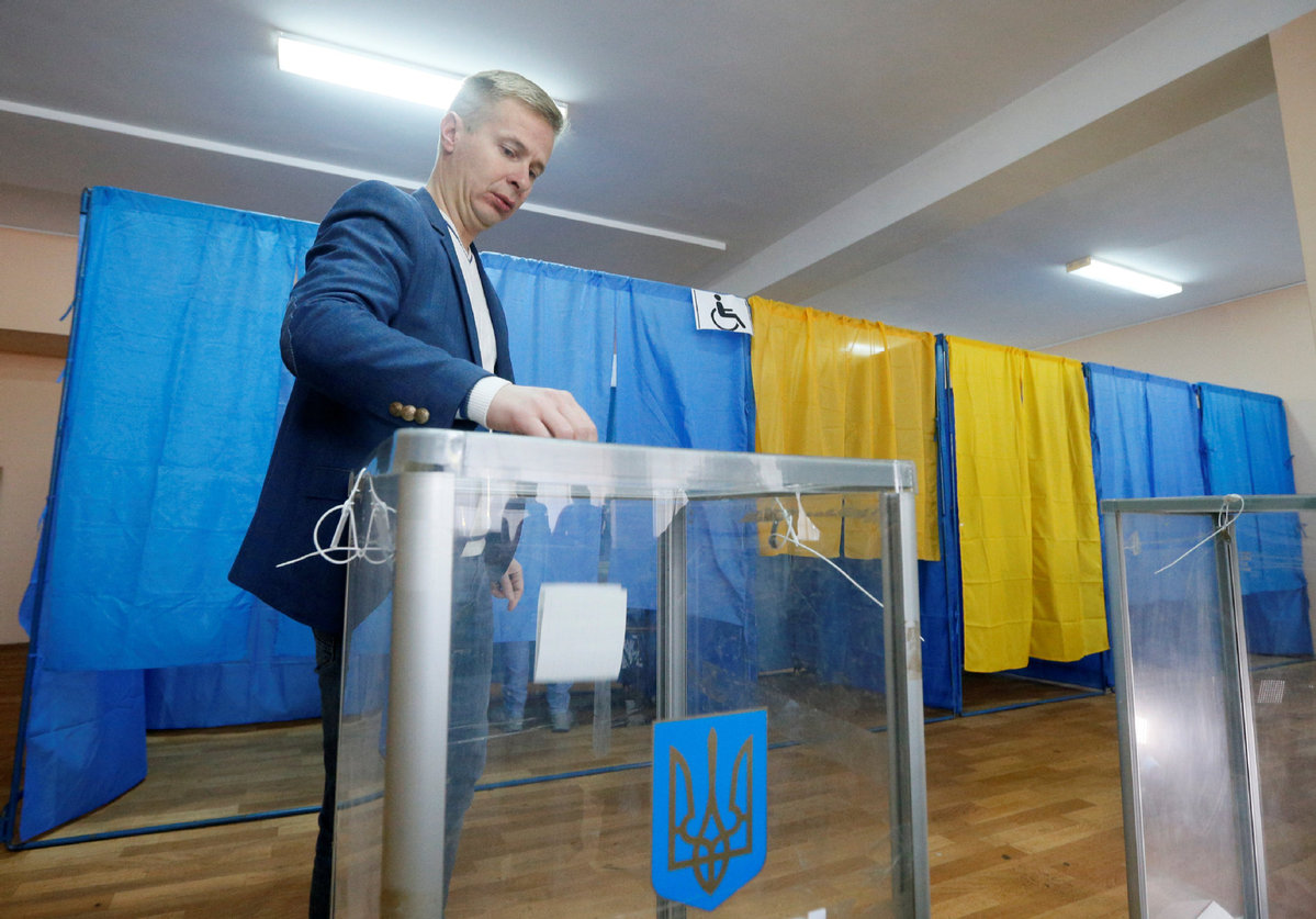 Ukraine kicks off 2nd round of presidential election - World - Chinadaily.com.cn