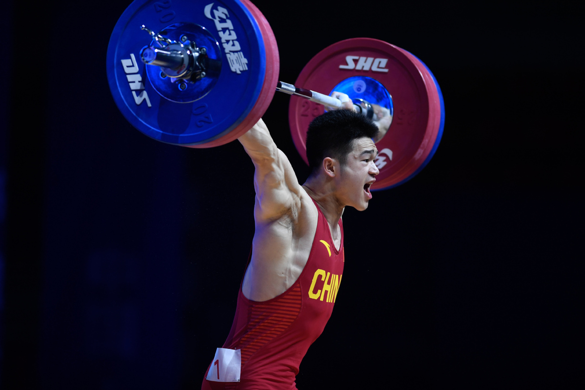 China muscles its way to more medals