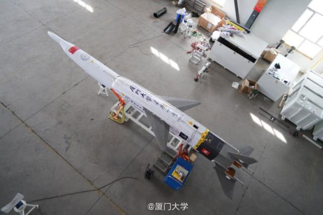 Chinese university launches reusable rocket