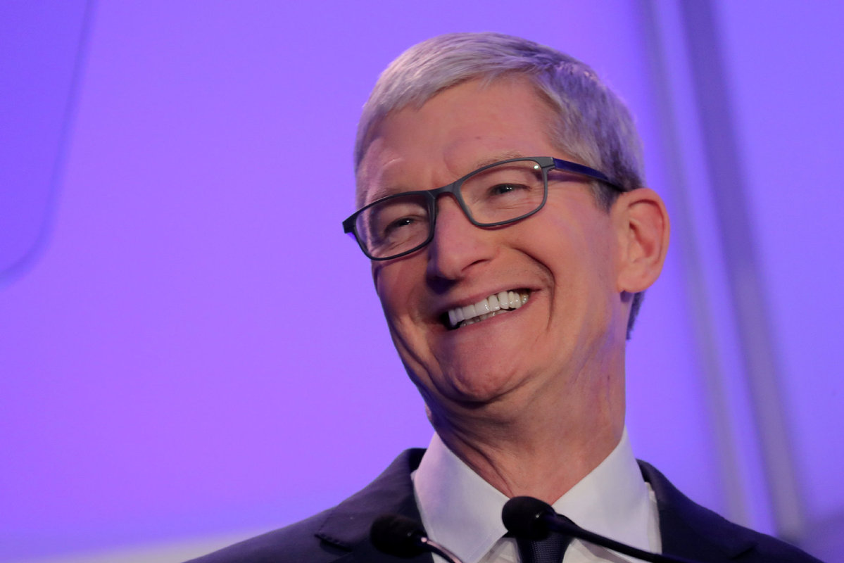 c8689566ef1 Apple CEO Tim Cook speaks at the Anti-Defamation League's