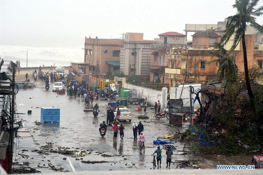 Cyclone Fani kills at least 12 in India before swiping Bangladesh
