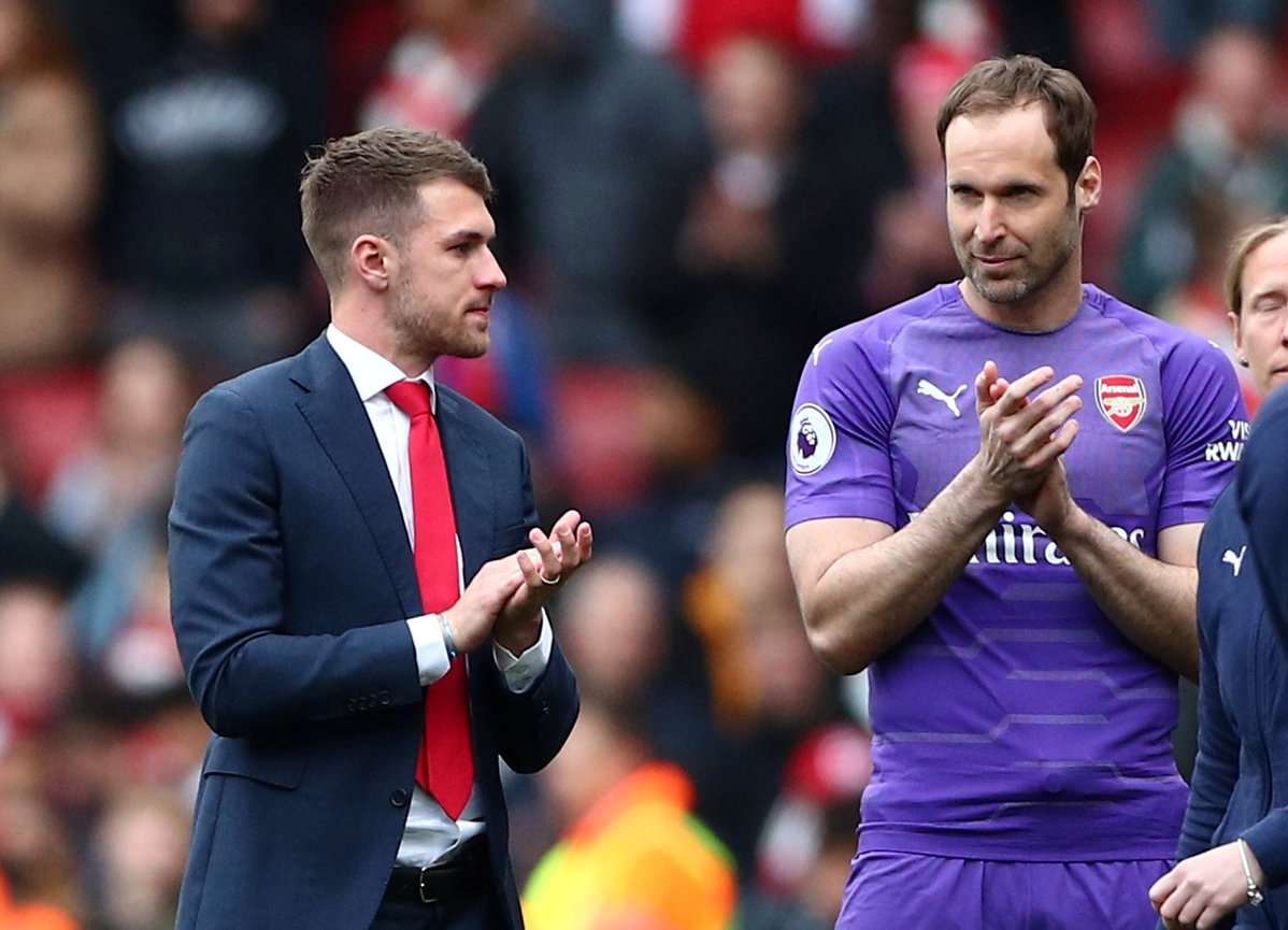 Image result for cech ramsey 2019