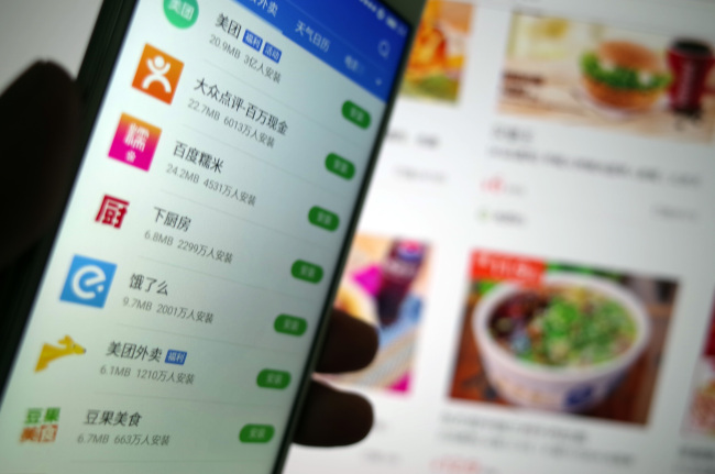 China leads Asia in online food ordering