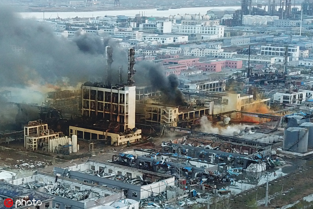 2 eastern provinces clamp down on chemical plants