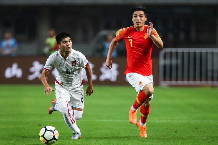 China first in Asia to adopt 3D offside technology in football - Chinadaily.com.cn