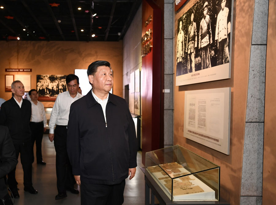 Xi underlines legacy of Long March - Chinadaily.com.cn