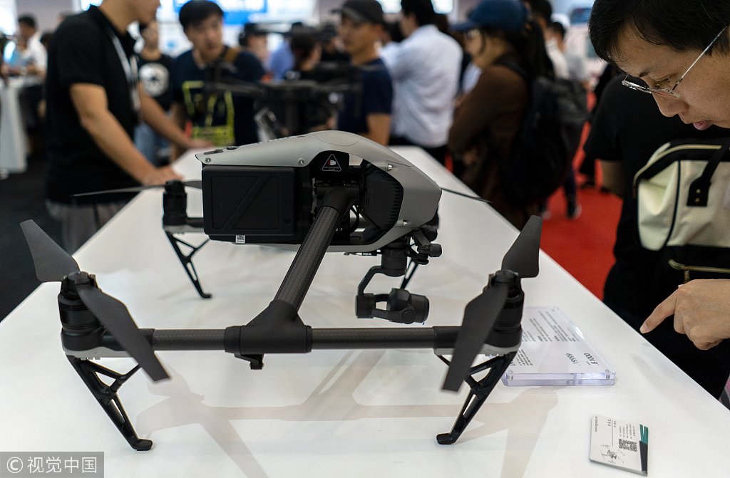 Chinese drone company eyes expansion in national market - Chinadaily.com.cn