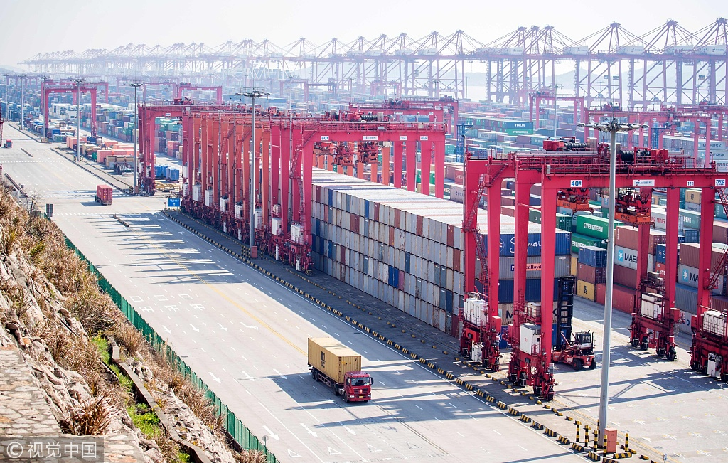 US tariffs on Chinese goods almost entirely borne by US importers, says IMF study - Chinadaily.com.cn