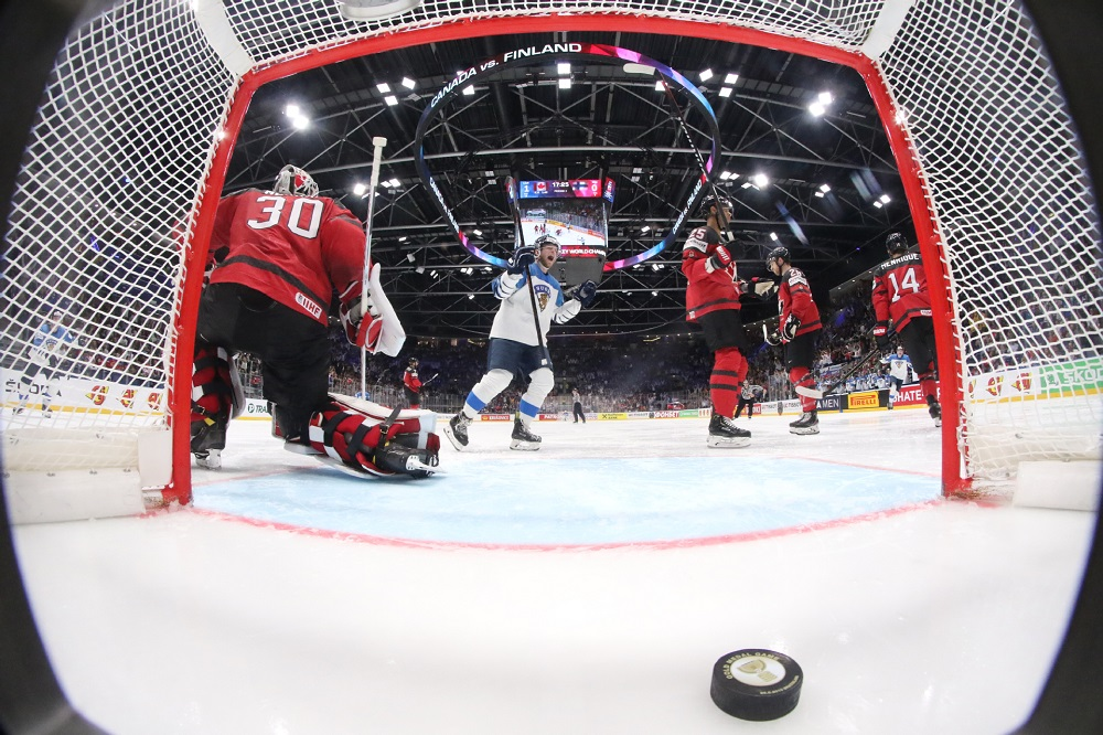 Finland Wins World Hockey Championship Beating Canada 3 1