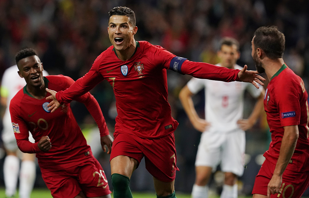 Ronaldo scores hat-trick to take Portugal to UEFA Nations League