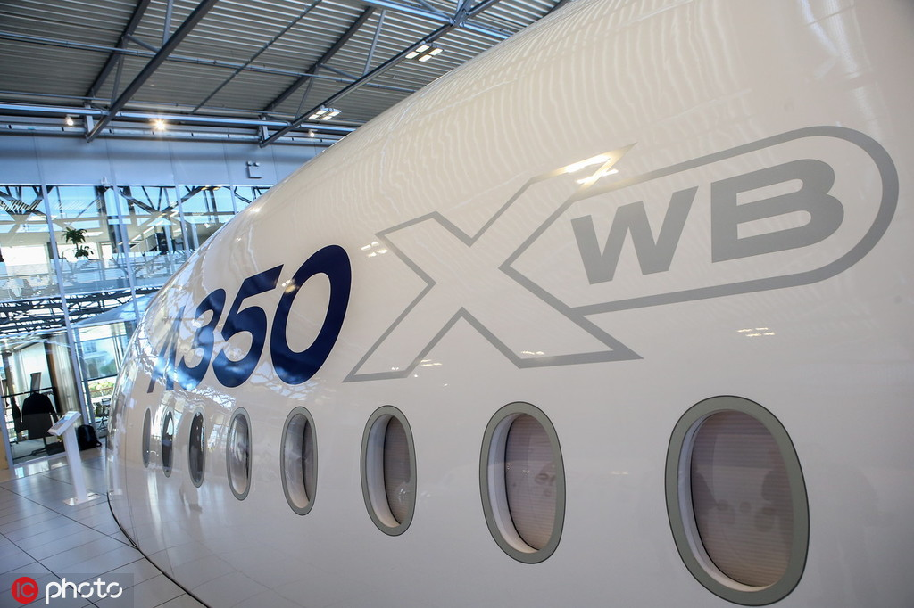 Airbus' joint venture in China becomes sole composite structure