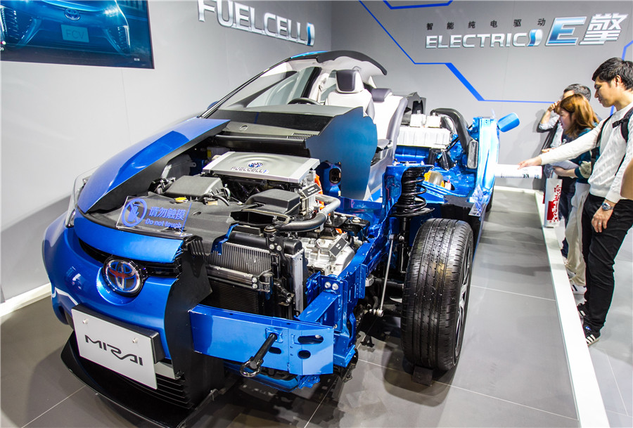 Shanghai to accelerate development of fuel cell vehicle industry
