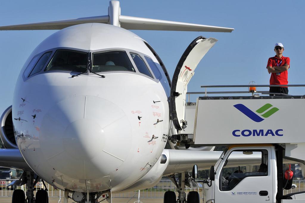 China's commercial aircraft developer showcases CBJ business