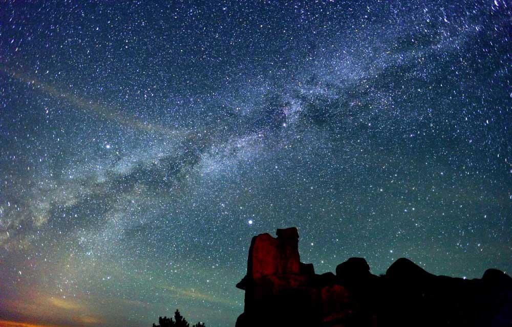 Starry Starry Night On Jiuxian Mountain Chinadaily Com Cn