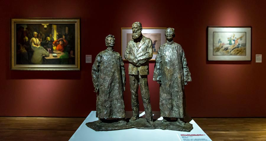 Long Museum holds New China art exhibition - Chinadaily.com.cn