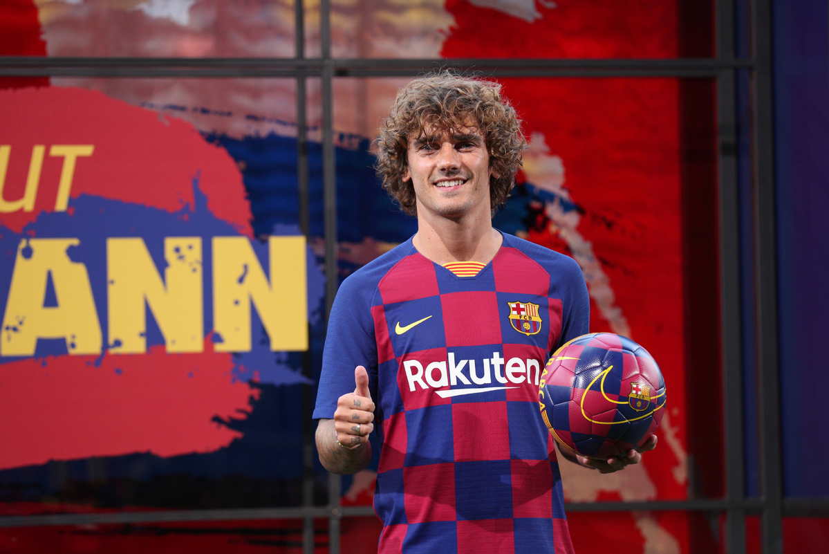 Image result for barcelona sign griezmann for how much