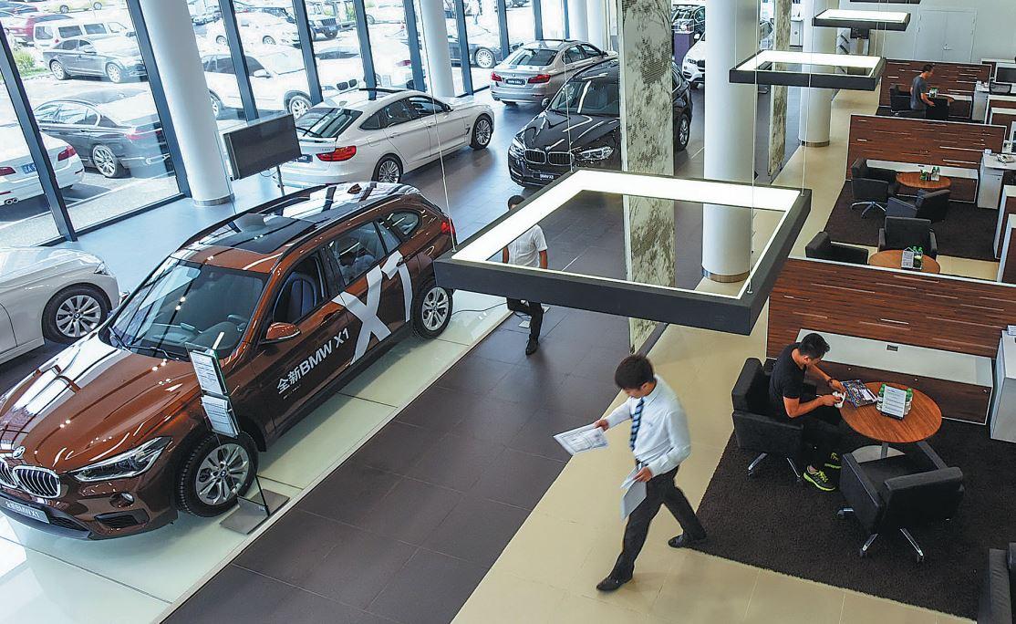 Internet Car Sales >> China S Car Sales Fall In July Chinadaily Com Cn