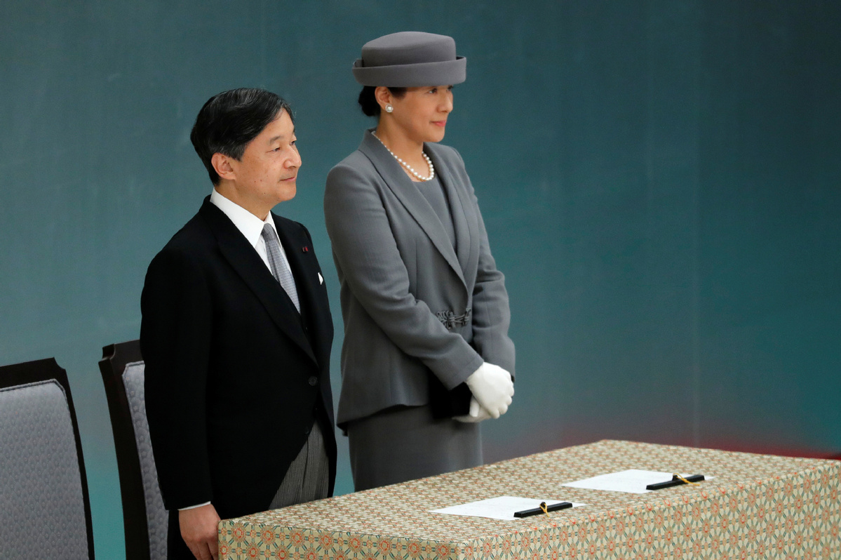 Emperor expresses 'deep remorse' over Japan's wartime acts - World - Chinadaily.com.cn