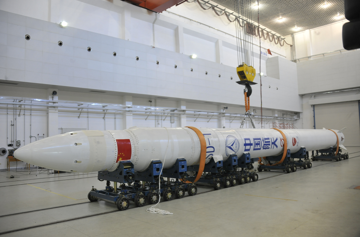 Commercial carrier rocket SD 1 makes debut flight - Chinadaily.com.cn