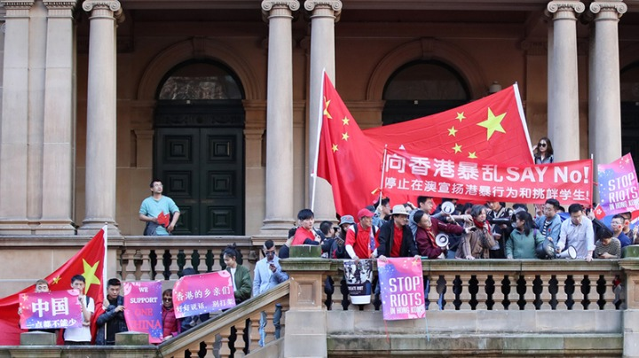 Overseas Chinese and students call for end to violence in China's Hong Kong - Chinadaily.com.cn