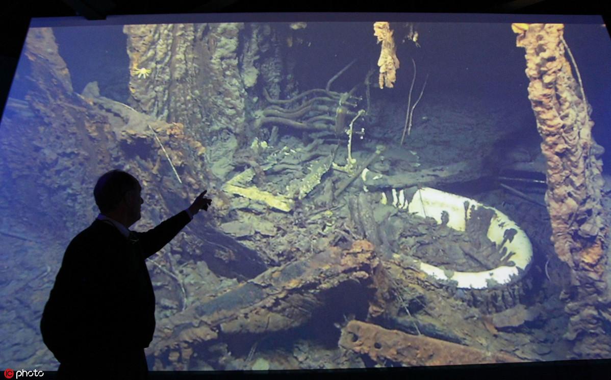 Recent expedition reveals state of <em>Titanic</em> wreck