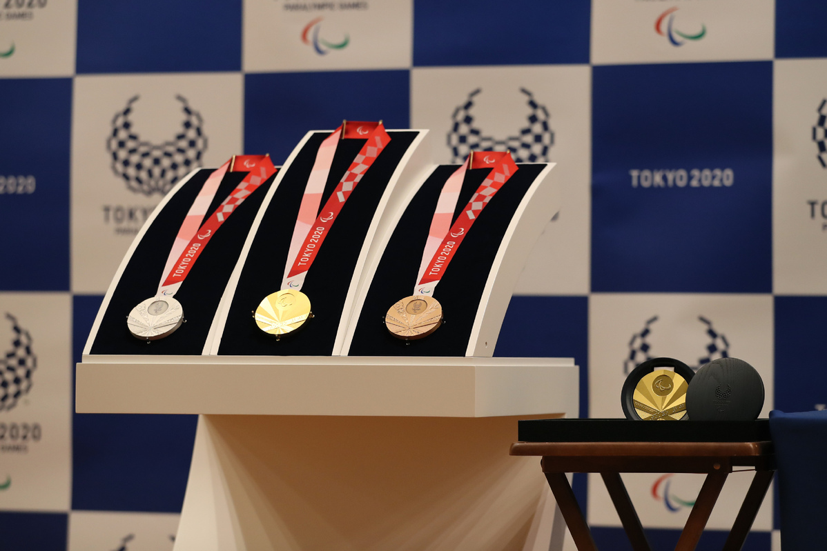 Games With Gold August 2020.Tokyo 2020 Unveils Paralympic Medals Design Chinadaily Com Cn