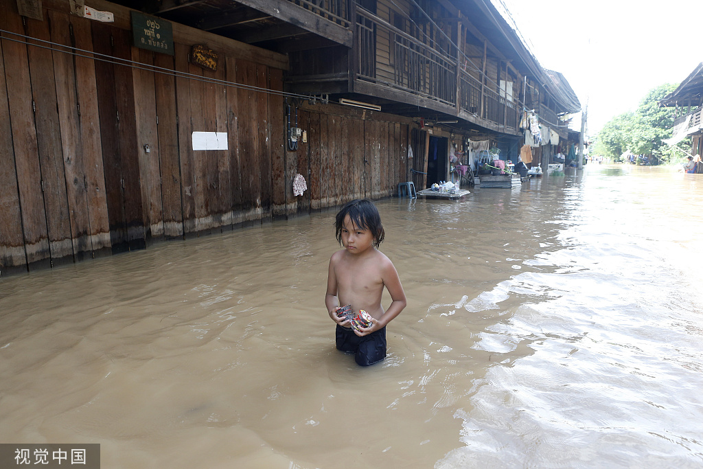 14 killed by tropical storm Podul in northern Thailand