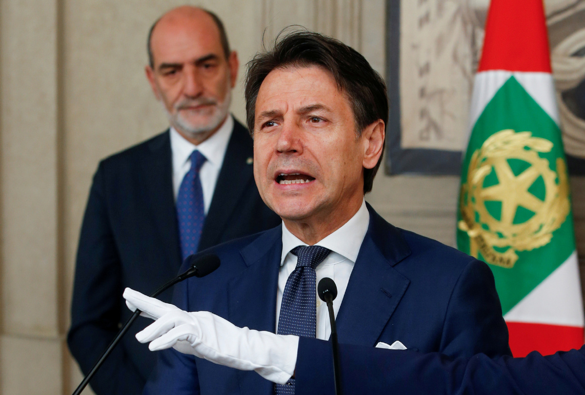 Italian PM Conte forms new coalition government
