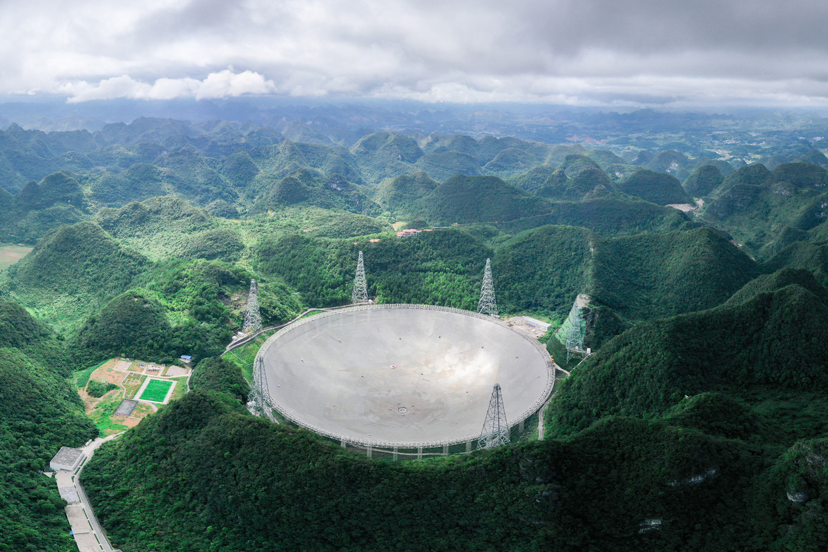 China's FAST telescope detects 'mysterious radio burst' for