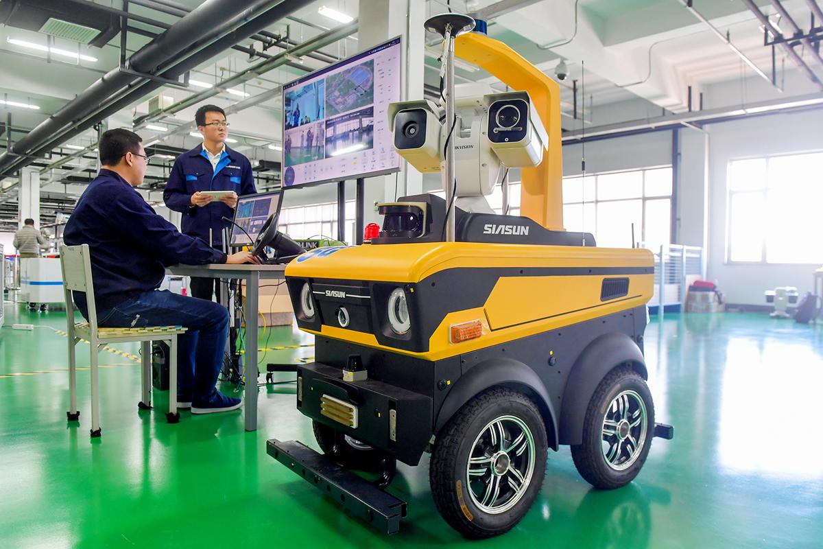 Siasun rides rising robot curve - Chinadaily com cn