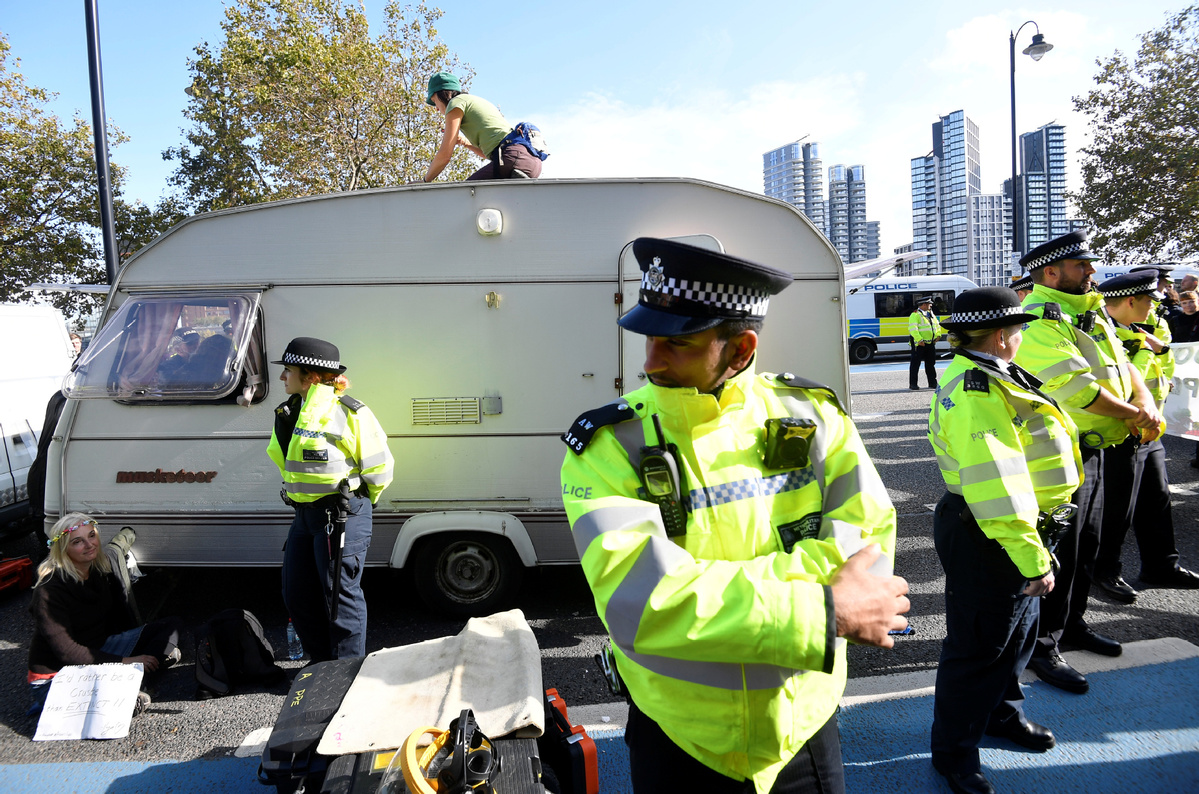 London police ban on protest draws praise - Chinadaily.com.cn