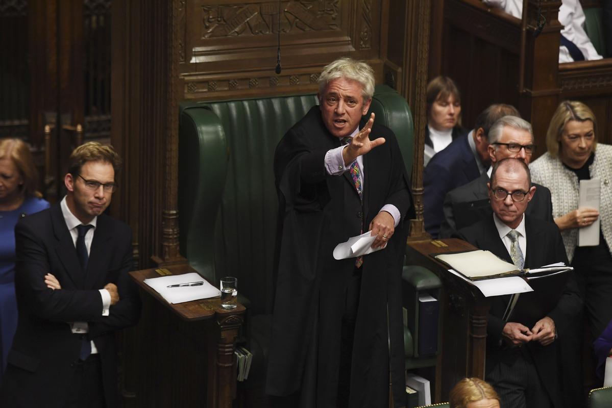 British Commons speaker reject...