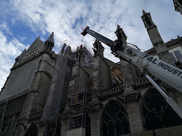 China and France to Jointly Repair Notre Dame de Paris