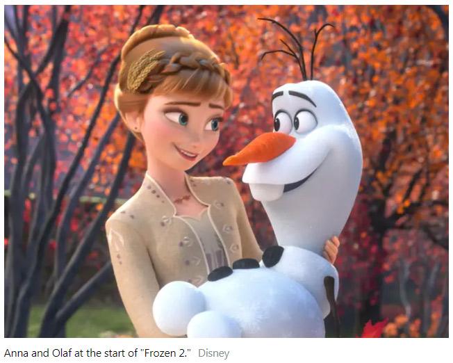 《冰雪奇缘2》这些细节你注意到了吗?