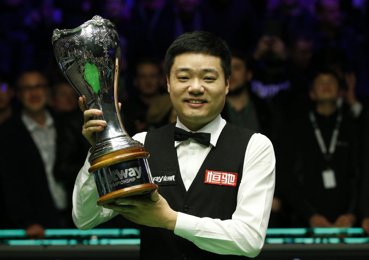 Ding Junhui wins third UK Championship - Chinadaily.com.cn
