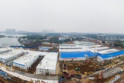 Wuhan authorities refute claims of hospital damage - Chinadaily.com.cn