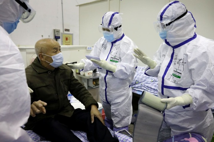 Novel coronavirus severity in patients drops significantly - Chinadaily.com.cn