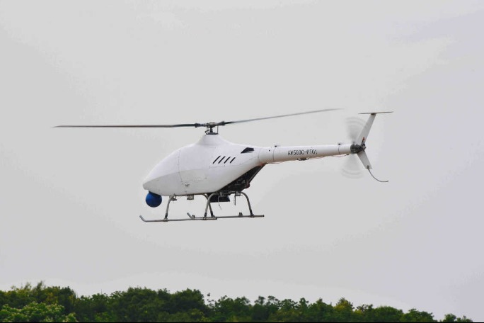 Unmanned helicopter conducts first test flight - Chinadaily.com.cn