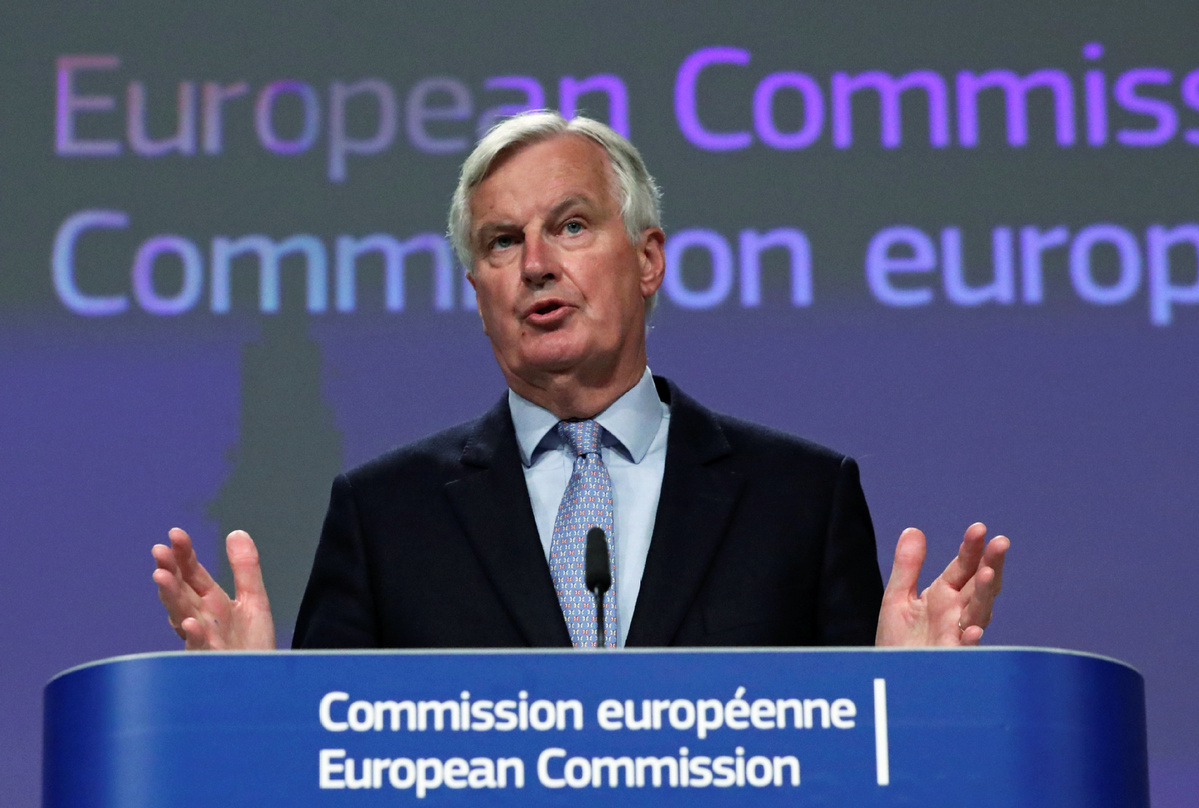 EU's Michel Barnier slams United Kingdom over Brexit negotiations