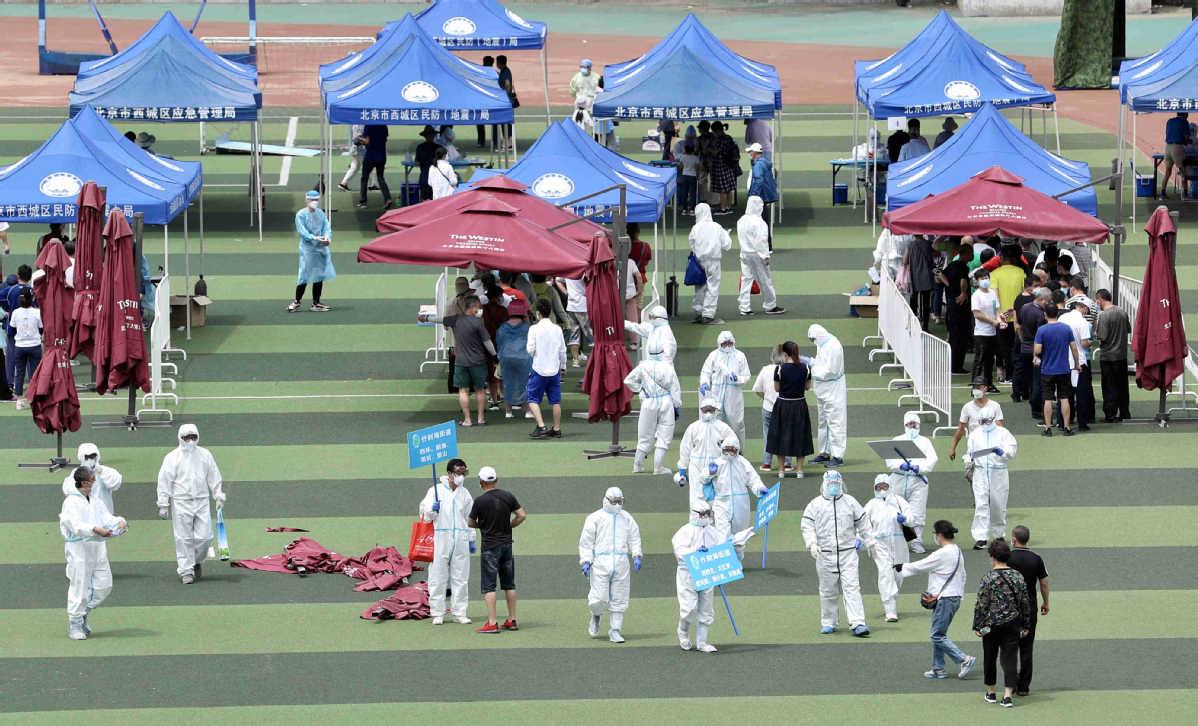 Beijing Under Partial Lockdown As Virus Cases Keep Rising