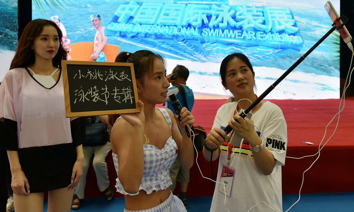 5f347c21a3108348fce45a4f Swimwear industry shows signs of gradual recovery 8211 Chinadaily USA