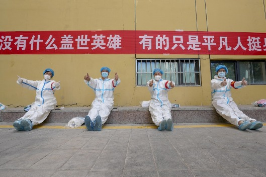 People-centered governance key to China's saving lives