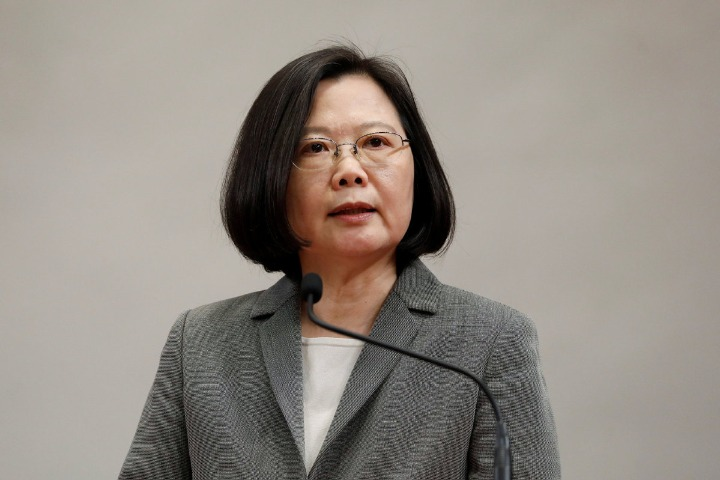 Tsai sells interests of residents to buy American support