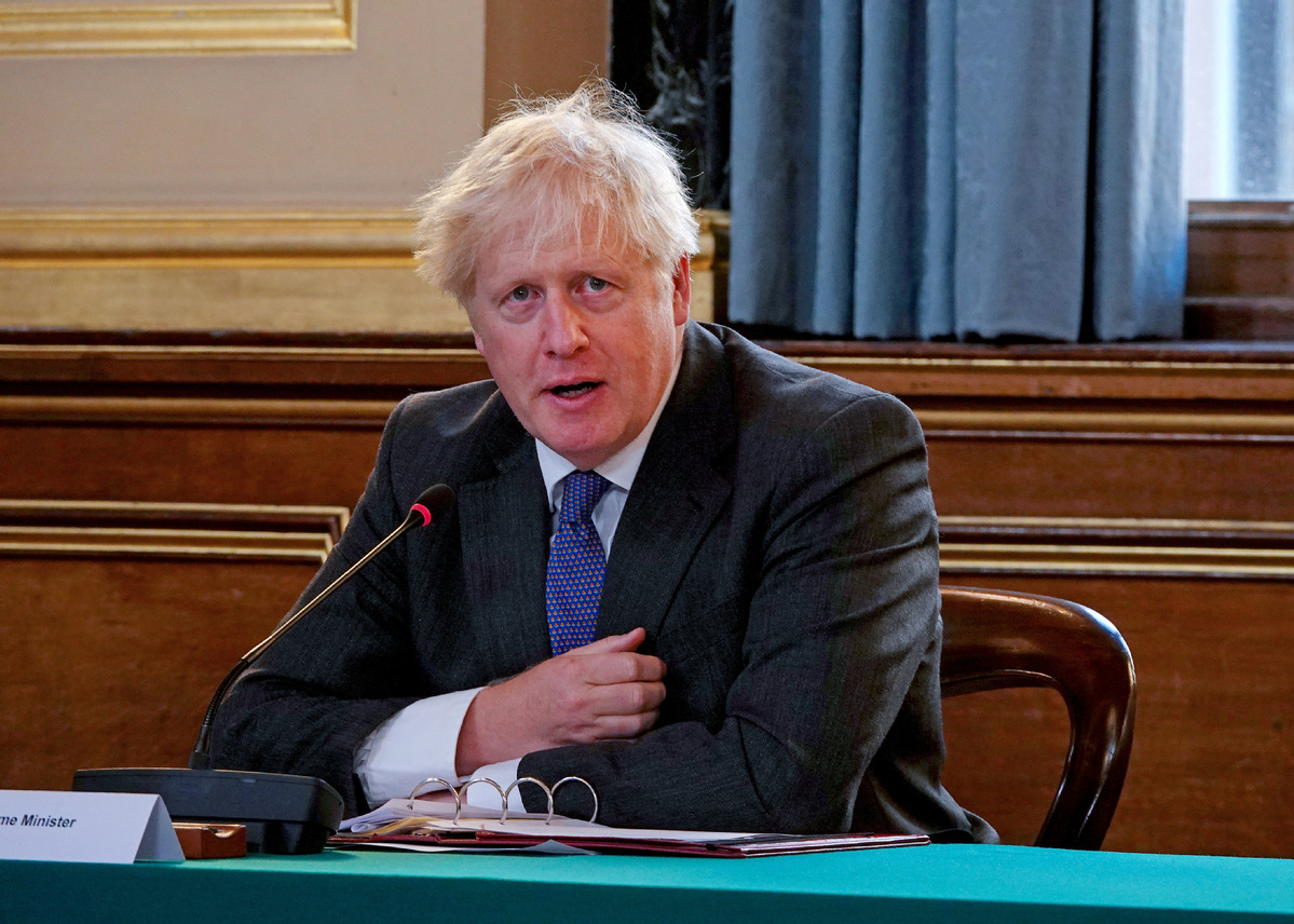 How much does U.S.  pressure over Brexit hurt Boris Johnson?