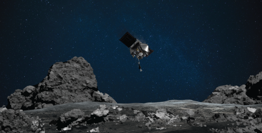 NASA spacecraft touches asteroid Bennu for rare rubble grab