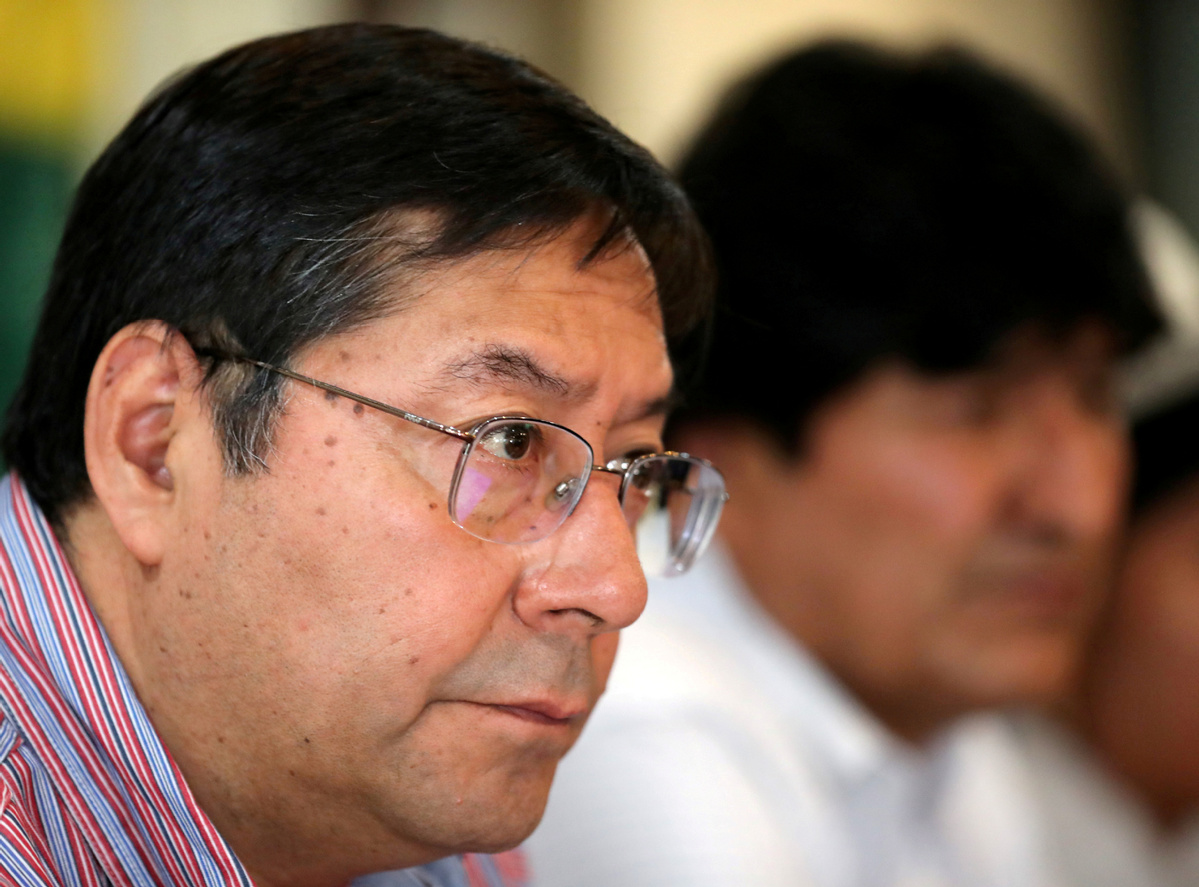 Bolivian ex-president Morales leaves Argentina on flight to Venezuela