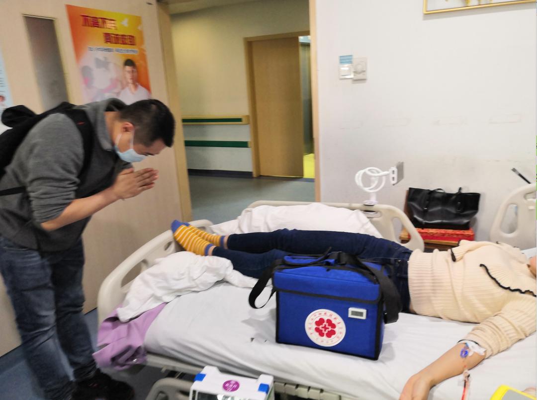Woman Donates Bone Marrow to Save Leukemia Patient