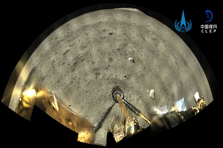 China's Chang'e-5 lunar sampler makes it to the Moon