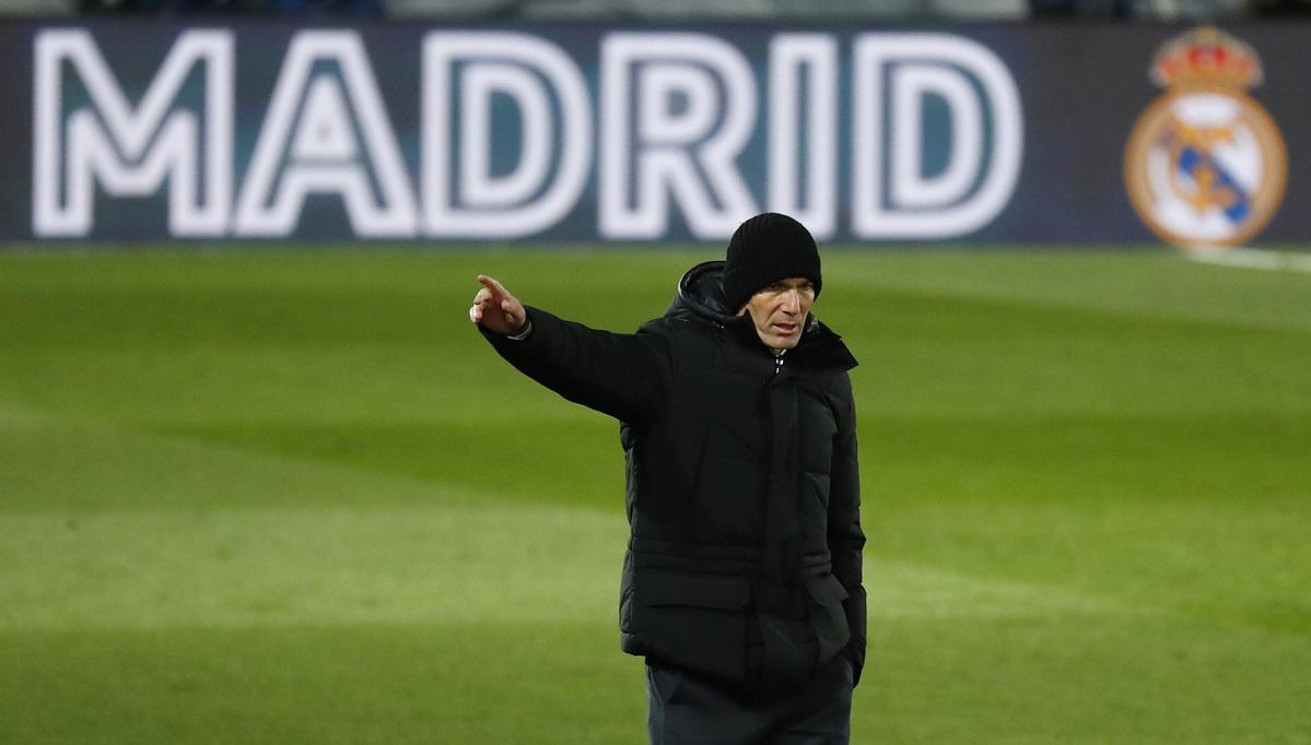 皇家马德里教练齐达内在接触新冠状病毒感染者后被迫隔离
