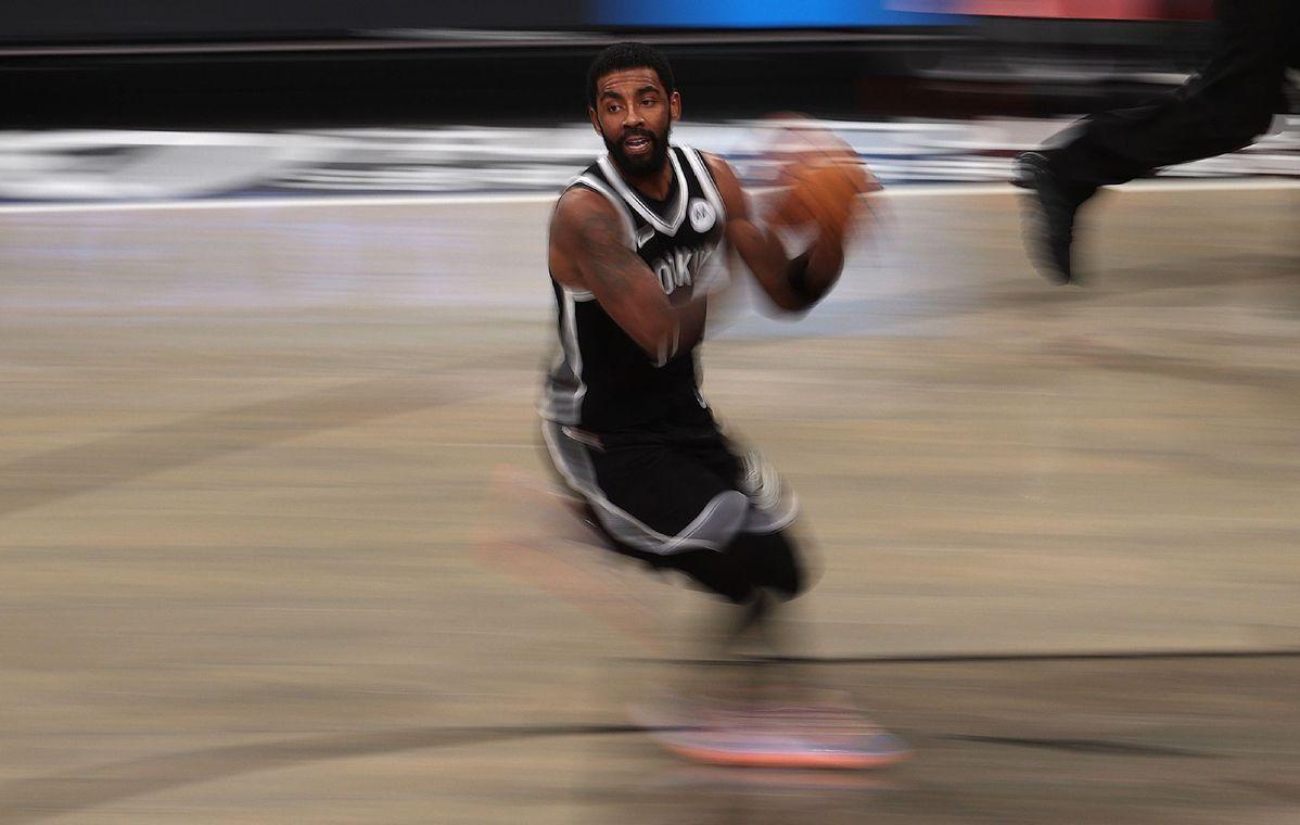 篮网,NBA在观看派对视频后回顾了欧文的举动